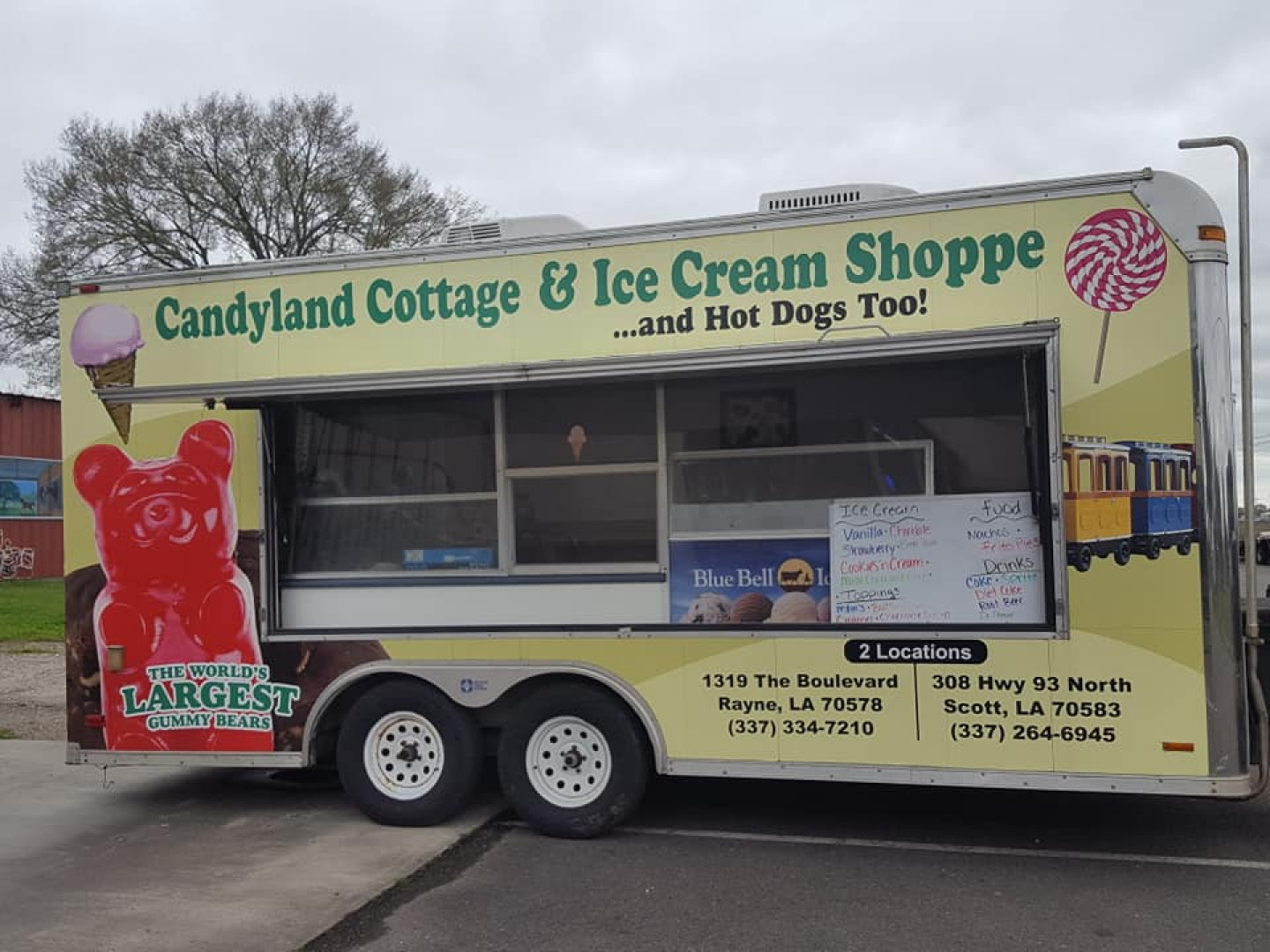 Candyland-on-Wheels events include